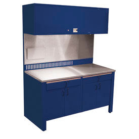 Workcenter with Stainless Steel Top Automotive Workbenches