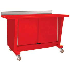 Mobile Sliding Door Cabinet Automotive Workbenches