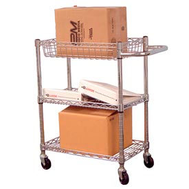 Heavy Duty Chrome Wire Transport Carts