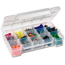 Clear Plastic Compartment Organizer Boxes