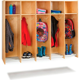 Wall Mount Shelf And Coat Lockers