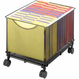 Safco® Onyx™ Mesh File Carts