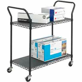 Black Wire Utility Carts