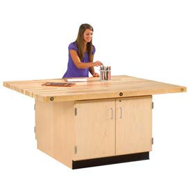 Maple Cabinet Workbenches