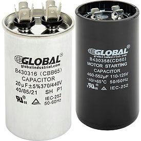 capacitors globalindustrial RU Capacitors run capacitors