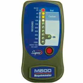Supco® Insulation Tester - Megohmmeters