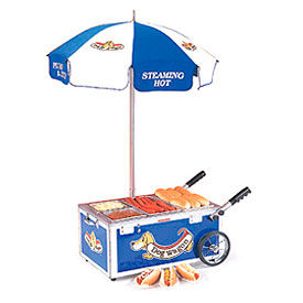 Mini Hot Dog Cart