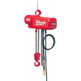 Milwaukee® Electric Chain Hoists