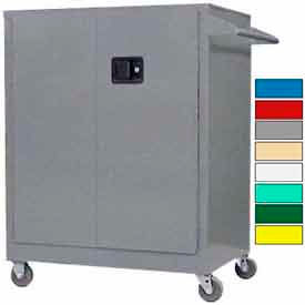 Securall® Counter High Mobile Industrial Cabinets