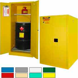 Securall® Hazardous Waste Drum Storage Cabinets