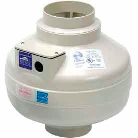 Inline Centrifugal Duct Fans w/ Plastic Housing