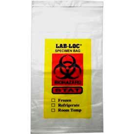 Adhesive Closure Tamper Evident Specimen Transfer Bags