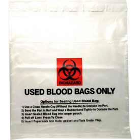 Used Blood Transport Bag