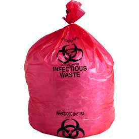 Red Infectious Waste Liners