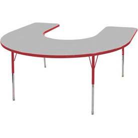 ECR4KIDS® - Horseshoe Activity Tables - Standard, Juvenile & Chunky Leg Style
