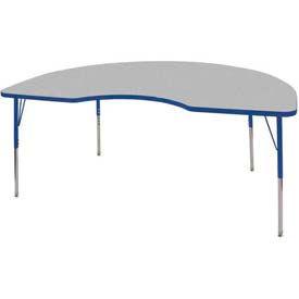 ECR4KIDS® - Kidney & Half Moon Activity Tables - Standard, Juvenile & Chunky Leg Style