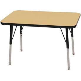 ECR4KIDS® - Rectangle Activity Tables - Standard Leg Style