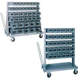 Mobile Steel Bin Unit