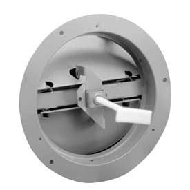 Dampers For Round Ceiling Diffusers