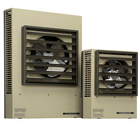 Horizontal Or Vertical Discharge Fan Forced Suspended Unit Heaters