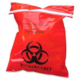 Health Care Bags Waste And Disposal Red Infectious