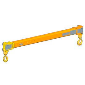 M & W Adjustable Spread Telescoping Beams