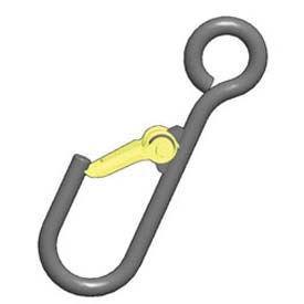 M & W Alloy Steel Latching J-Hooks
