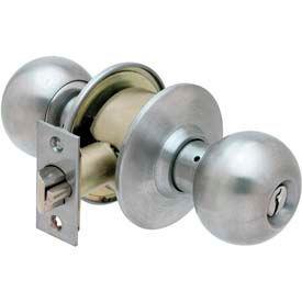 Ultra Hardware Light Commercial Cylindrical Balls Locksets