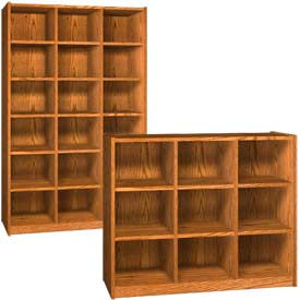 Ironwood Wood Cubicle Storage Cabinets