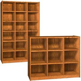 Ironwood Wood Cubicle Storage Cabinets