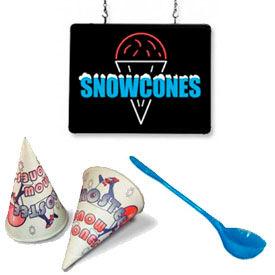 Snow Cone Accessories