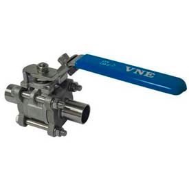 T316 Stainless Steel Two-Way & Three-Way Ball Valves