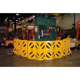 Extendable Mobile Safety Barriers