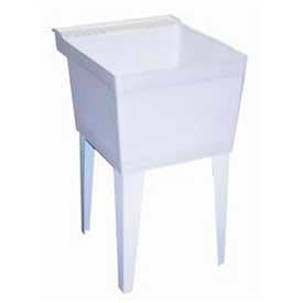 FIAT Composite Acrylic Freestanding Laundry Tubs