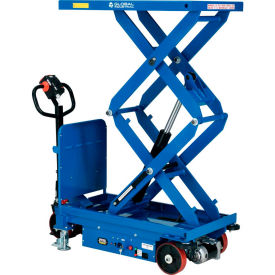 Battery Powered Mobile Scissor Lift Tables