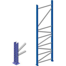 Interlake Mecalux - KD Bolted Tear Drop Pallet Rack Upright Frames