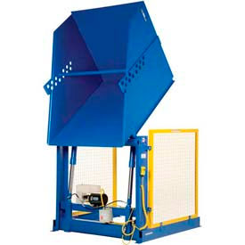 Electric Powered Hydraulic Lift Box & Container Dumpers
