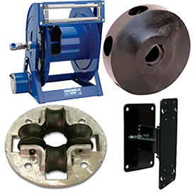 Hose Bumpers, Roller Guides & Brackets