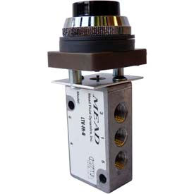 4-Way Mechanically/Manually Actuated Valves