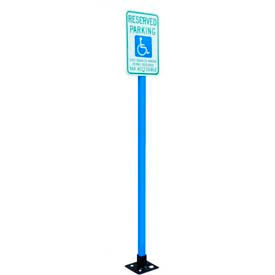 X-Tube Parking Lot Sign System