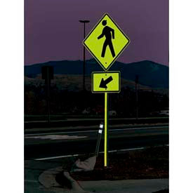 Reflective Sign Posts