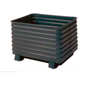 3c9524d47cd0e Steel King® Round Corner Corrugated Steel Containers
