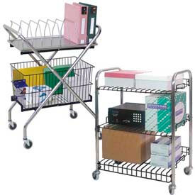 Omnimed® Wire Utility & Basket Carts