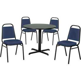 Premier Hospitality Furniture - Table & Economy Stack Chair Set