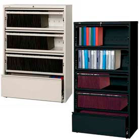 Hirsh Industries® - HL8000 Series® - Receding Drawer Front Lateral File