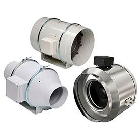 Inline Mixed Flow Duct Fans