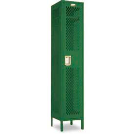 Penco Invincible II, 1 Tier Ready To Assemble Steel Lockers With Recessed Handle