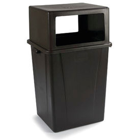 Hooded Top Waste Containers