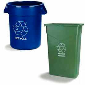 Recycle Waste Containers & Lids