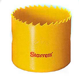 Starrett Straight 6-Pitch Hole Saws